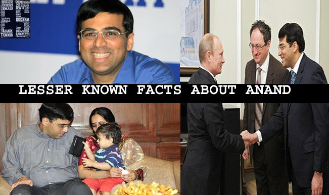 lesser known facts Viswanathan Anand