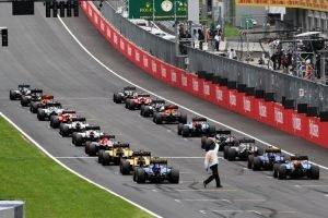 Revised F1 schedule