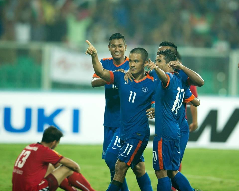 India beat Afghanistan SAFF CUP 2015