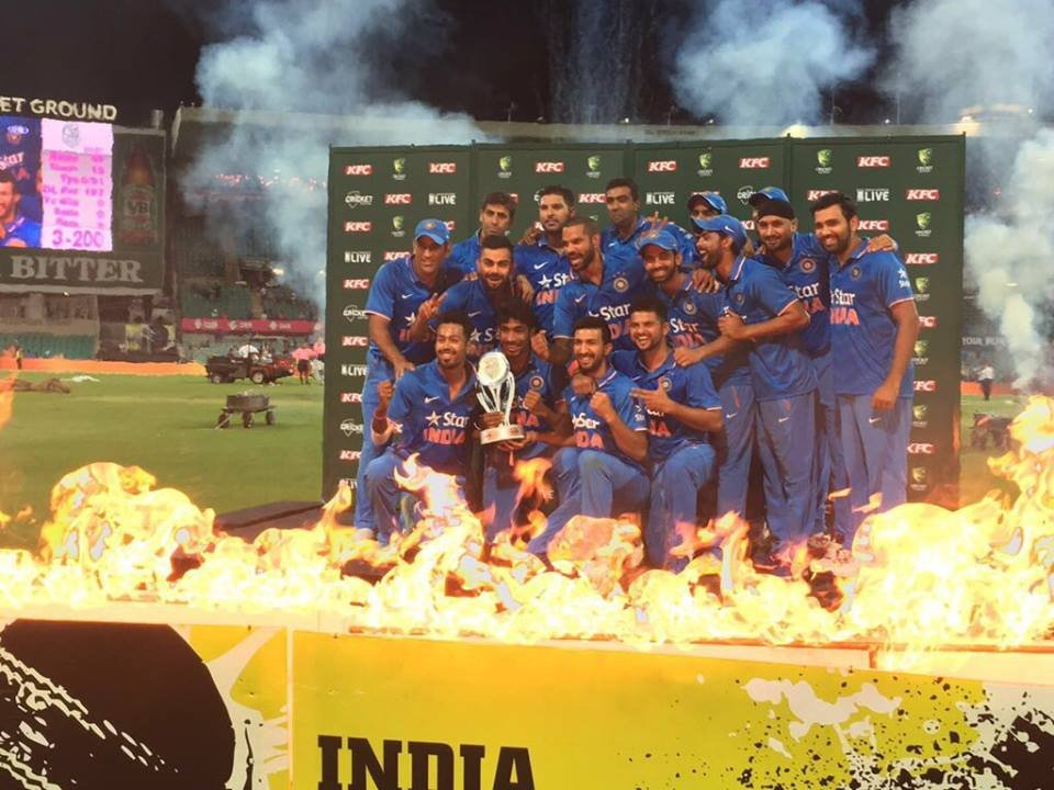 Twitter reactions: Team India complete a thrilling run-chase to seal a 3-0 - essentiallysports.com