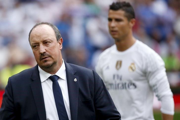 Rafael Benitez Cristiano Ronaldo