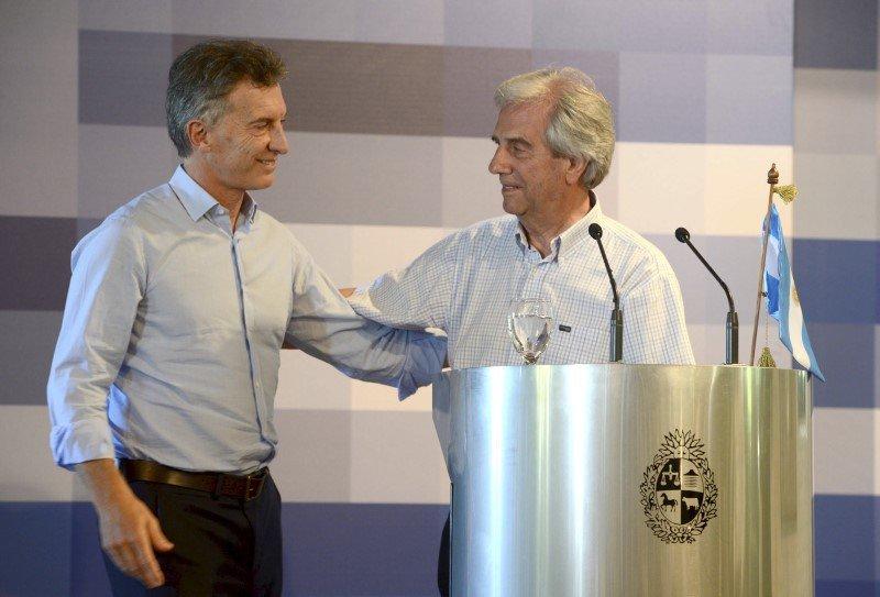 Tabare Vazquez Uruguay Mauricio Macri Argentina