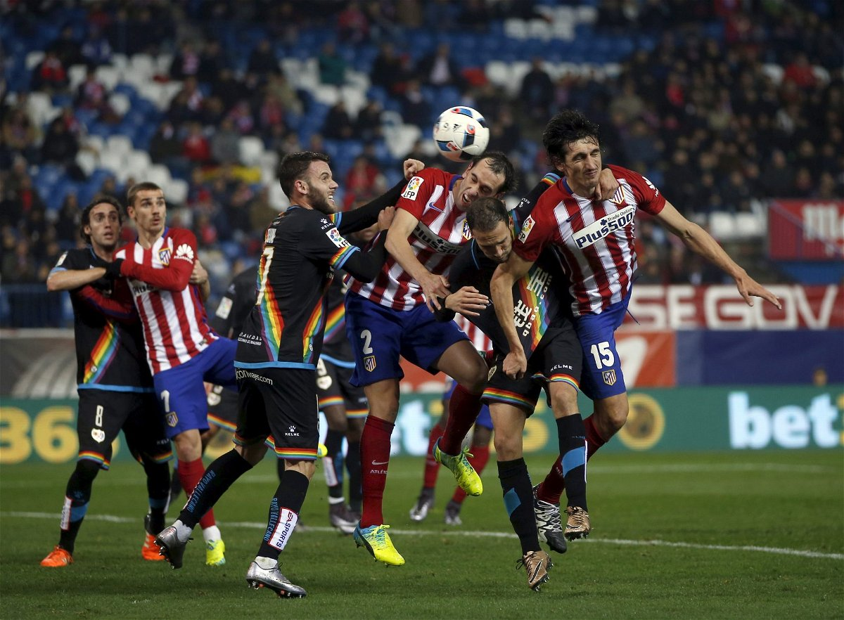 Atletico Madrid v Rayo Vallecano