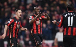 Afobe strikes as Bournemouth over power Norwich - essentiallysports.com