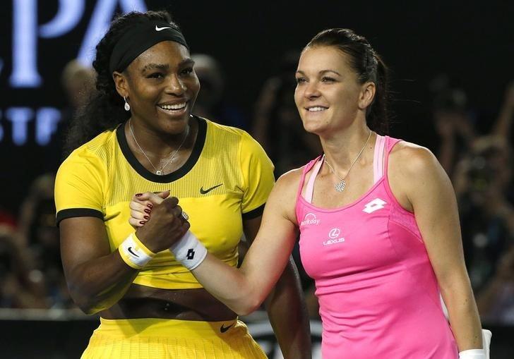 Serena Williams Agnieszka Radwanska