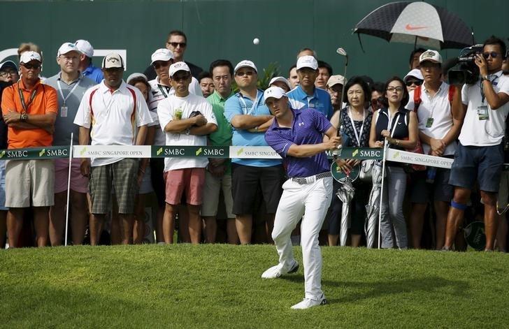 Jordan Spieth Singapore Open