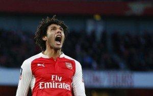 Mohamed Elneny Arsenal v Burnley