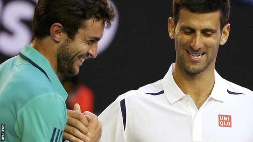 Novak Djokovic - Gilles Simon
