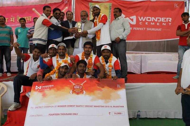 Wonder Cements #Saath7 Cricket Mahotsav