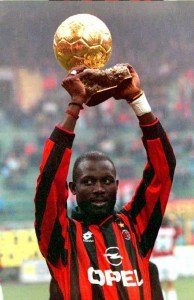 George Weah remains the only African to win the Ballon D'Or and the FIFA World Player of the Year Award, winning both in 1995