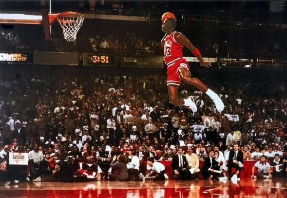 His dunking abilities were something that popularized basketball across the world