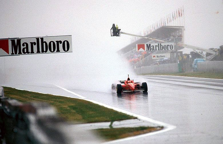8 of Formula One's finest wet weather drives