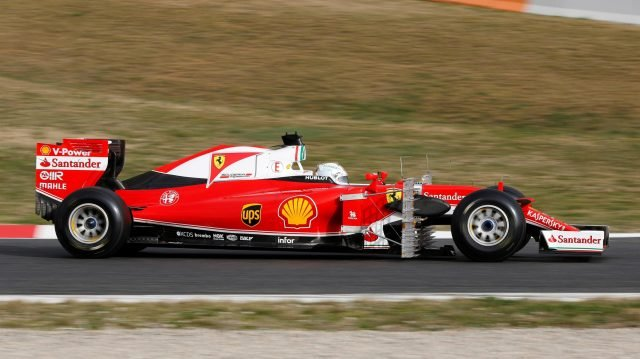 The SF16-H is to be the main contender to the Silver Arrows's F1 W07