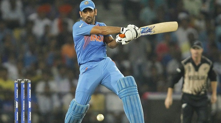MS Dhoni Batting