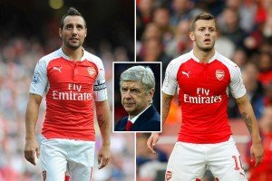 Both Santi Cazorla and Jack Wilshere have missed a large chunk of this season.