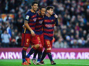 The Messi-Neymar-Suarez trident of FC Barcelona has proven to be the most devastating one.