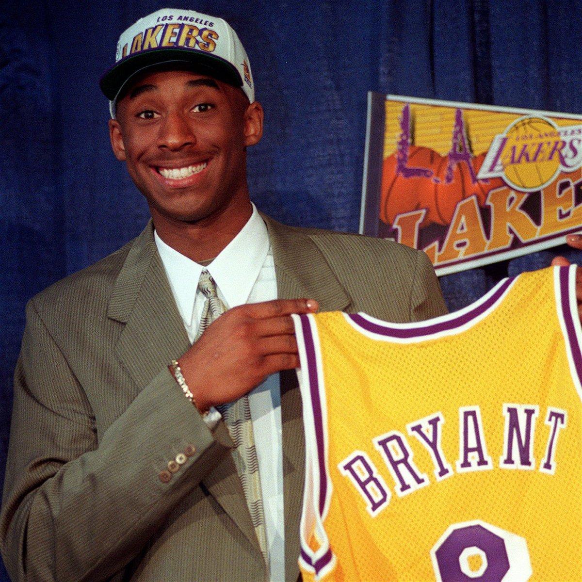 Kobe at the 1996 Draft