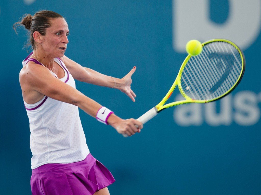 Roberta Vinci (above) of Italy stunned Serena Williams in arguably one of the greatest upsets of all time.