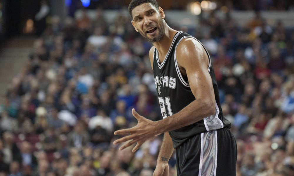 Duncan is the only player to have won 1,000 regular season games with the same team