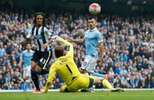 Aguero smashed 5 against Newcastle earlier in the yesr