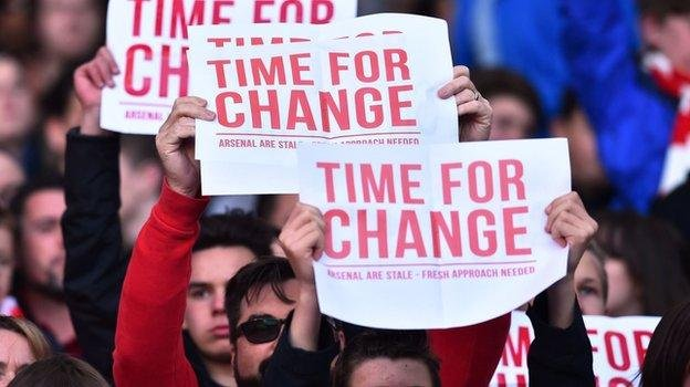 time for change at arsenal