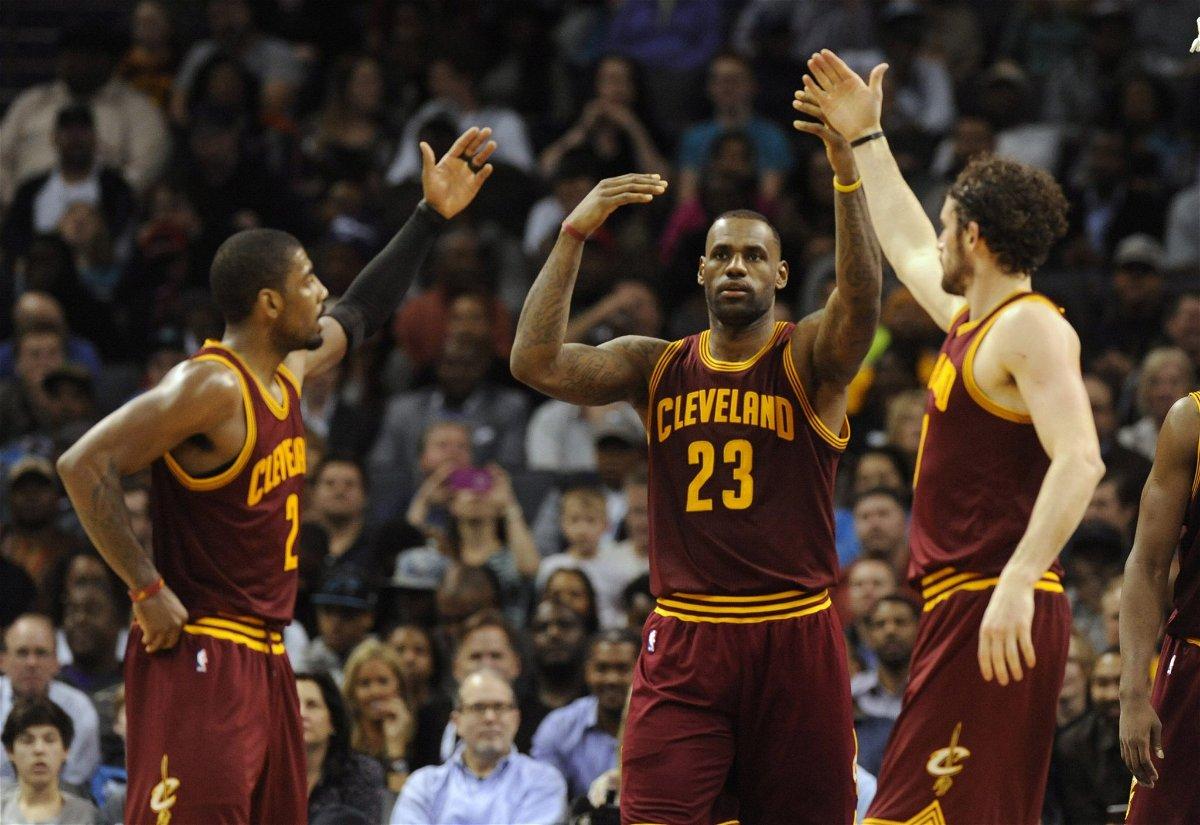 Cleveland's healthy big three