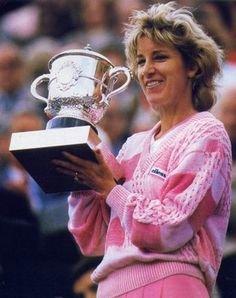 Chris Evert Roland Garros French Open