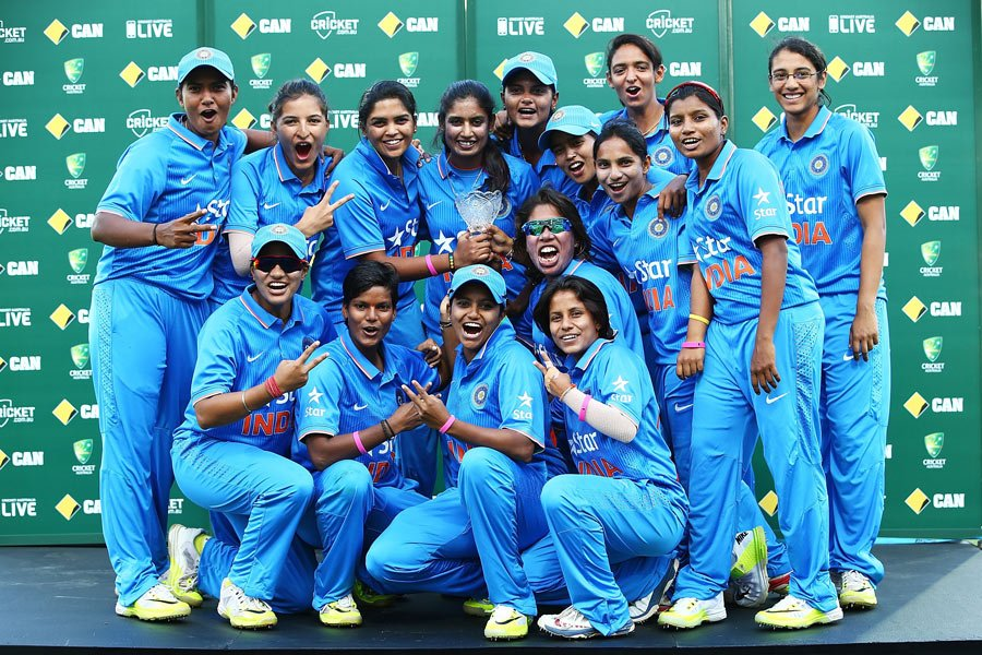 India Women ODI squad which clinched the bilateral series against Australia earlier this year. Picture Courtesy: Cricket Australia/Getty Images