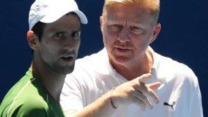 The Becker Djokovic partnership is still going strong