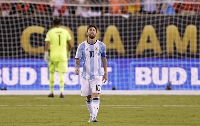 Leo Messi retirement announcement from International Football - essentiallysports.com