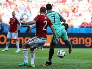 Ronaldo in sublime form against Hungary