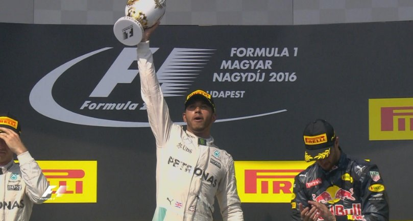 f1 driver standings 2016
