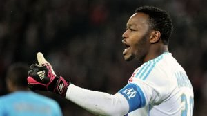 Steve Mandanda during his time at Marseille