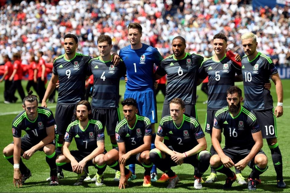 Wales showed great togetherness, both by the staff and players.