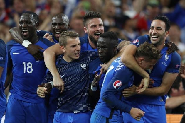 France euro 16 semifinals
