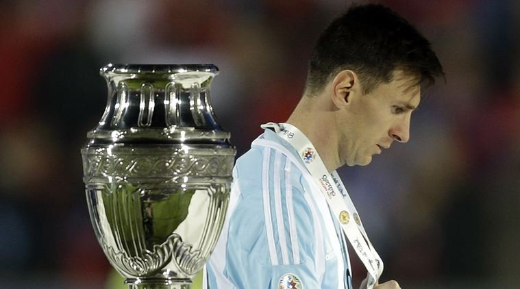 The pain of losing 3 consecutive finals proved too much for the Argentinian to bear in the end as he chose to retire from International football