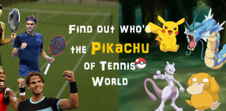 Pokémons who resemble Tennis players