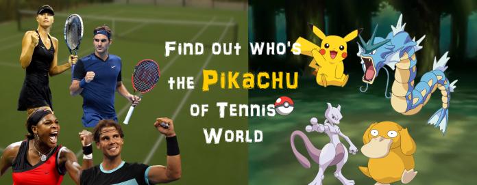 Pokémons who resemble Tennis players
