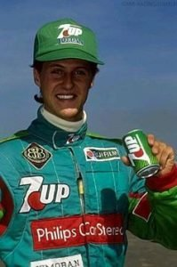 Michael Schumacher's beginning
