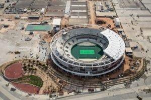 The Barra Olympic Tennis Stadium.
