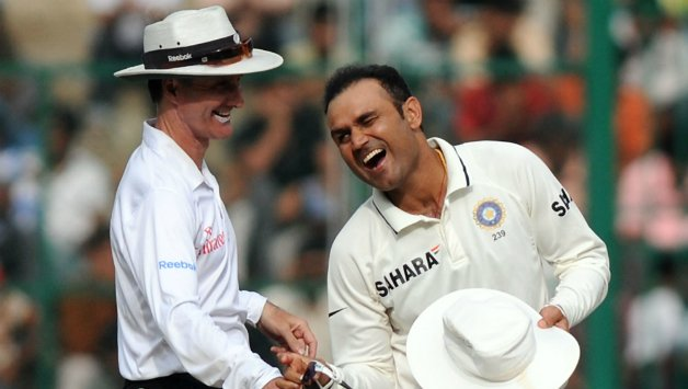Sehwag Twitter Takes to Show his Swag - essentiallysports.com