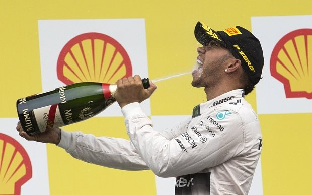 Lewis might have a double grid penalty.