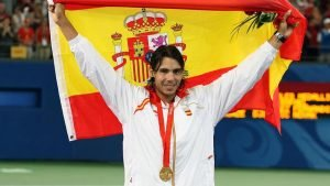 2008 Gold Medalist Nadal's performance has been quite remarkable during this comeback spell of his.