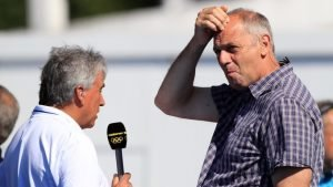 John Inverdale has been presenting the rowing coverage in Rio with Sir Steve Redgrave