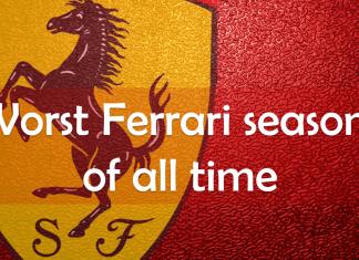 Worst Ferrari seasons of all time