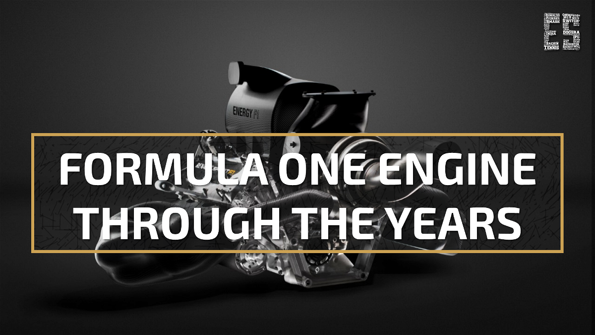 Formula One engine through the years