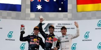 Twitter in a Frenzy as Ricciardo wins while Hamilton goes up - essentiallysports.com