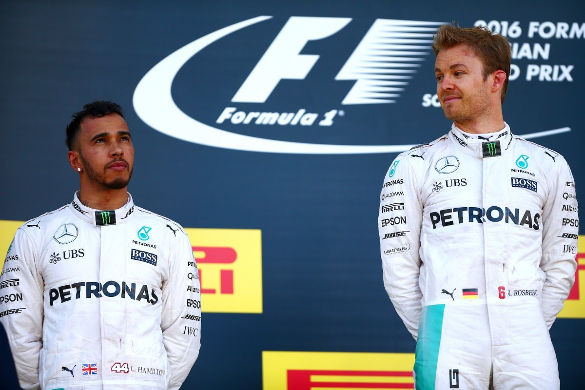 Rosberg overshadowing Hamilton in 2016