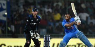 MS Dhoni New Zealand