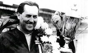 Sir Jack Brabham with the 1959 championship